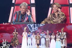 'Nhá hàng' Liveshow 2: Sơn - Tường hóa ông bà 'máu me', Giang - Hồ 'ưa chuộng' style cung đình
