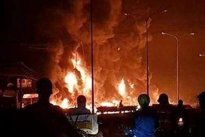 Khởi tố vụ cháy xe bồn chở xăng làm 6 người tử vong ở Bình Phước