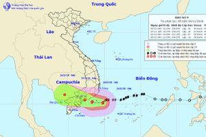 Dự báo từ nay đến 26-11 lượng mưa phổ biến ở Khánh Hòa từ 200-300mm