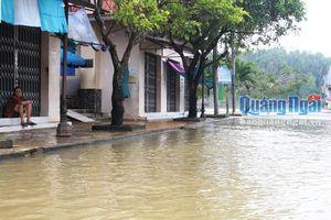 Cảnh báo mưa lớn và lũ trên địa bàn Quảng Ngãi
