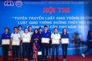Cần Thơ: Gần 700 sinh viên tham dự hội thi tuyên truyền giao thông