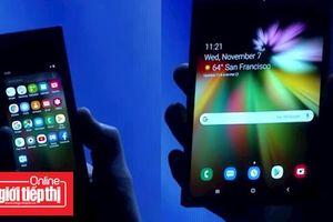 Giá điện thoại màn hình gập Samsung Galaxy Flex gây choáng váng