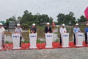 Khởi công xây dựng cống âu thuyền Ninh Quới ở Bạc Liêu
