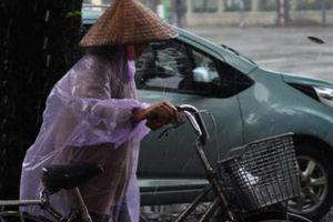 Bão số 9 suy yếu thành áp thấp, mưa lớn ở nhiều nơi