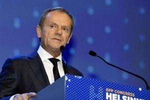 Ông Donald Tusk đề nghị lãnh đạo EU27 thông qua thỏa thuận Brexit
