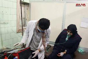 Thảm cảnh người dân Syria sau vụ tấn công hóa học tàn bạo