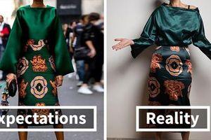 Hô biến quần áo 'giẻ rách' mua trên mạng thành đồ thời trang