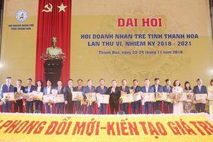Đại hội lần thứ VI, Hội doanh nhân trẻ Thanh Hóa (2018 - 2021)