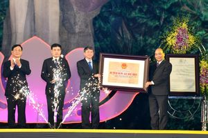 Thủ tướng dự Lễ đón nhận danh hiệu Công viên địa chất toàn cầu UNESCO Non nước Cao Bằng