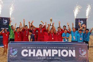 Đánh bại Thái Lan trong trận chung kết kịch tính, tuyển Việt Nam lên ngôi vô địch