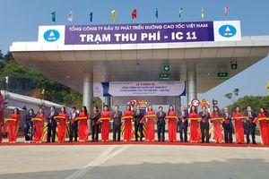 Khánh thành nút giao trên cao tốc Nội Bài- Lào Cai tại Phú Thọ