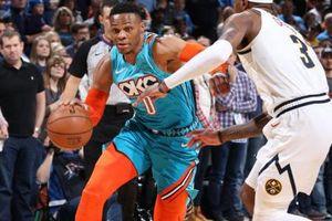 Westbrook đang cày chỉ số hăng thì 'tịt ngòi', Thunder chấp nhận thất bại ngay trên sân nhà