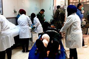 Tấn công hóa học Syria: Hơn 100 người chết và bị thương tại Aleppo