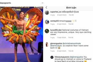 Bị fan Việt chê không thương tiếc nhưng 'Bánh Mì' của H'Hen Niê lại gây bão quốc tế