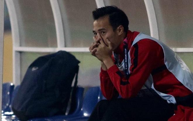 Văn Toàn mất AFF Cup 2018 vì va chạm trong tập luyện