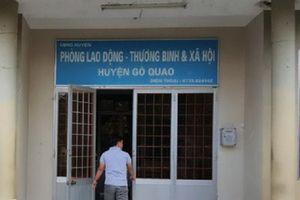 Kiên Giang: Khởi tố 1 Phó trưởng phòng Tài chính về tội tham ô tài sản