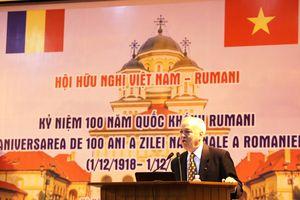 Thúc đẩy quan hệ hữu nghị và hợp tác Việt Nam - Rumani