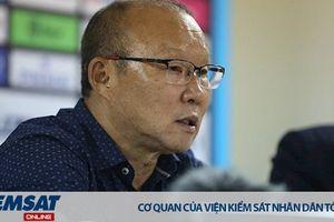 HLV Park Hang-seo: 'Các bạn thấy chiến thắng dễ dàng, nhưng thực tế đây là trận đấu khó khăn'