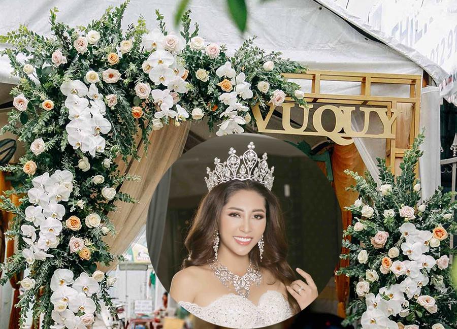Toàn cảnh không gian hôn lễ của Hoa hậu Đặng Thu Thảo và đại gia miền Tây