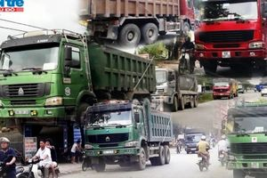 Bắc Ninh: Xe có biểu hiện quá khổ, quá tải lộng hành tại huyện Yên Phong