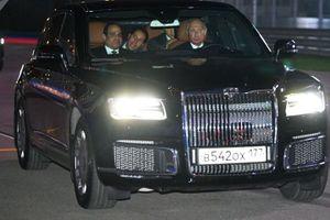 Tổng thống Nga Putin và niềm đam mê ô tô