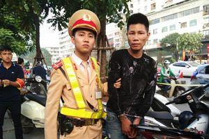 Cảnh sát 141 bắt nam thanh niên nghi trộm cắp xe máy