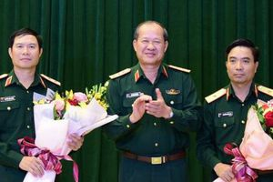 Bộ Quốc phòng bổ nhiệm hai nhân sự cấp tướng