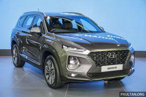 Hyundai Santa Fe 2019 SUV đáng mua với giá gần 45.000 USD