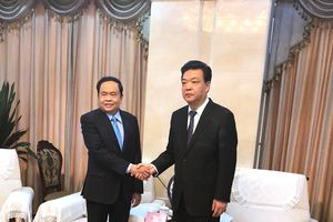 Đoàn đại biểu cấp cao UBTƯ MTTQ Việt Nam thăm và làm việc với Chính hiệp TP Bắc Kinh