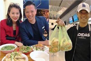 Hồ Hạnh Nhi và chồng khoe ảnh ăn phở gà, bánh mì ở Việt Nam