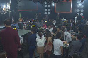 40 thanh niên dương tính ma túy trong hai quán bar