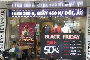 Giảm giá ăn theo Black Friday: Người tiêu dùng bị móc túi