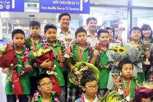 Đoàn học sinh Hà Nội giành 35 huy chương tại kỳ thi WMTC 2018