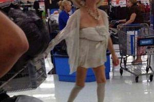 Hình ảnh 'quái dị' chỉ có thể bắt gặp ở trong siêu thị