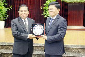 Đà Nẵng chia sẻ kinh nghiệm tổ chức đại hội Đảng bộ địa phương với Đảng Nhân dân Cách mạng Lào