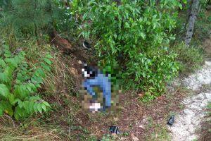 Hoảng hồn phát hiện nam công nhân tử vong bên chiếc xe máy