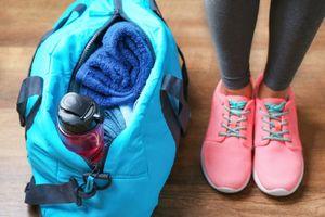 Túi đựng vật dụng tập gym bẩn hơn chúng ta nghĩ rất nhiều