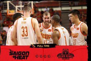 Saigon Heat đánh bại đại diện đến từ Trung Quốc