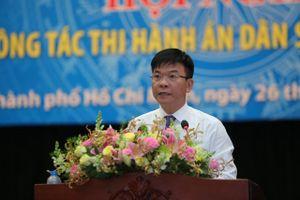 Bộ trưởng Lê Thành Long: Cục trưởng, Chi cục trưởng cần thường xuyên trực tiếp kiểm tra chấp hành viên