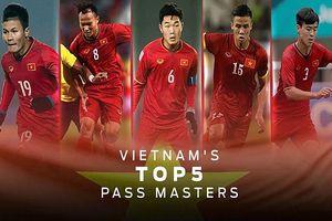Top 5 cầu thủ Việt Nam xuất sắc nhất ở vòng bảng AFF Cup 2018
