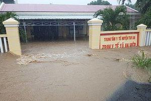 Phú Yên: Nhiều nơi ngập nặng