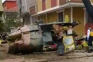 Rơi trực thăng quân sự Thổ Nhĩ Kỳ, 4 người thương vong