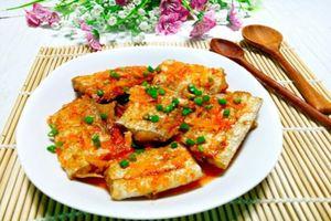 Hao cơm với món cá tẩm bột chiên giòn, chấm mắm tỏi ớt ngon tuyệt