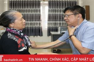300 người dân Hà Tĩnh được khám sàng lọc bệnh tim mạch miễn phí