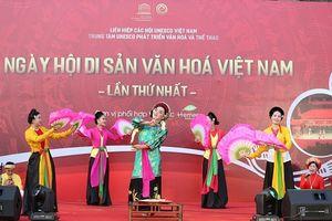 Ngày hội di sản văn hóa Việt Nam lần 1: Đậm đà truyền thống dân tộc