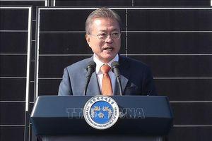 Tỷ lệ ủng hộ Tổng thống Moon Jae-in thấp kỷ lục