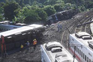 Tai nạn thảm khốc tại Đài Loan là do tàu chạy 140 km/h tại khúc cua