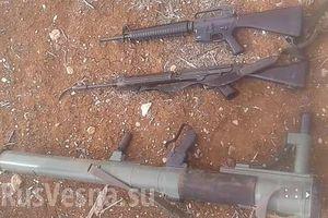 Quân đội Syria thu giữ vũ khí có nguồn gốc phương Tây của IS ở Al-Safa