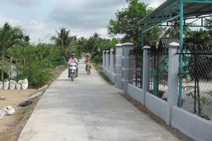 Khắc phục điểm nghẽn của giao thông nông thôn