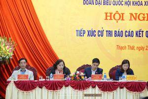 UBND TP Hà Nội trả lời cử tri về các dự án đường bộ